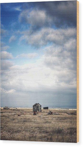 Projekt Desolate The Distance  Wood Print by Stuart Ellesmere