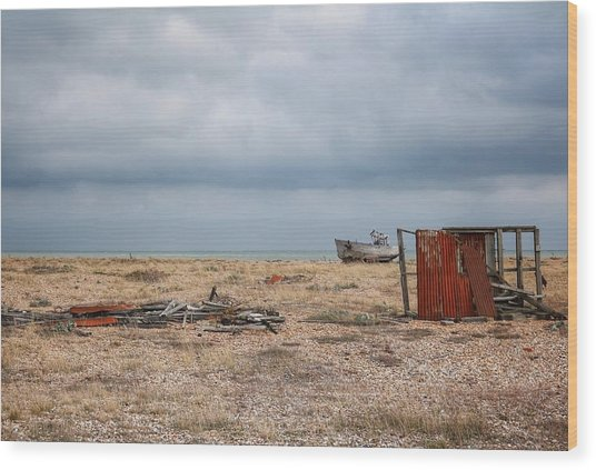 Projekt Desolate The Triple Wood Print by Stuart Ellesmere