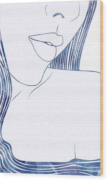 Pronoe Wood Print