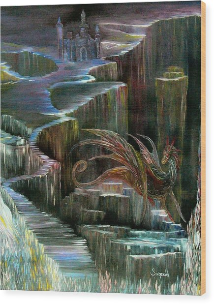 Protector Wood Print by Cary Singewald