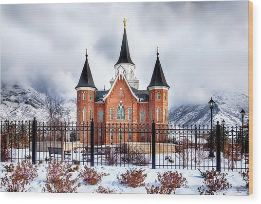 Provo City Center Temple Canvas Print, Photographic Print, Art Print, Framed Print, Greeting Card, Wood Print
