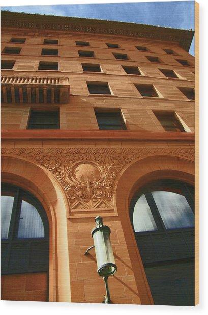 Pueblo Downtown Thatcher Building 2 Wood Print