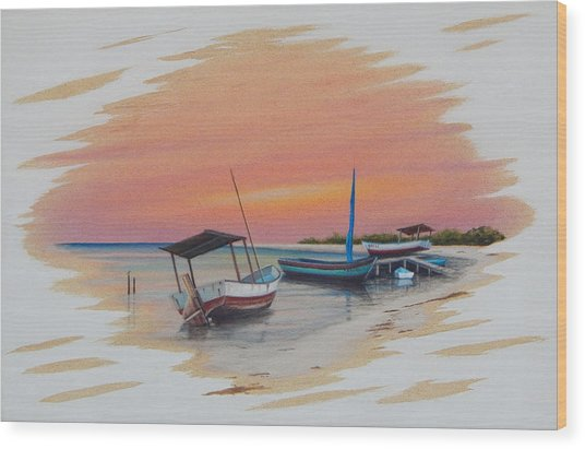 Puerto Progreso V Wood Print