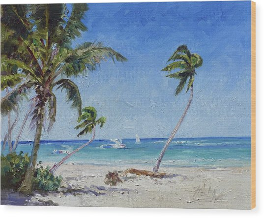 Punta Cana Bavaro - Sea Beach 14 Wood Print
