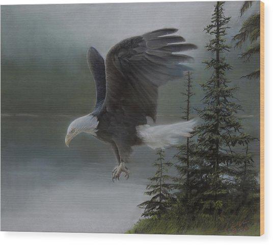 Purden Lake Wood Print