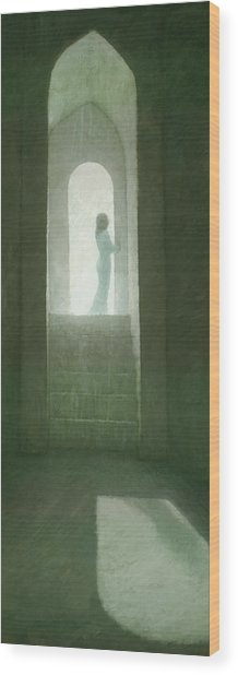 Pure Light Wood Print
