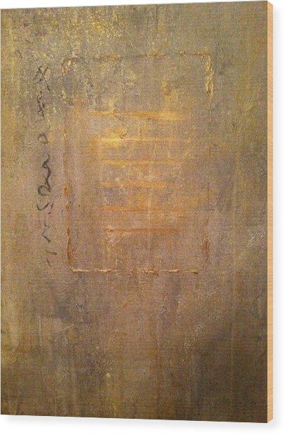 Qian Wood Print