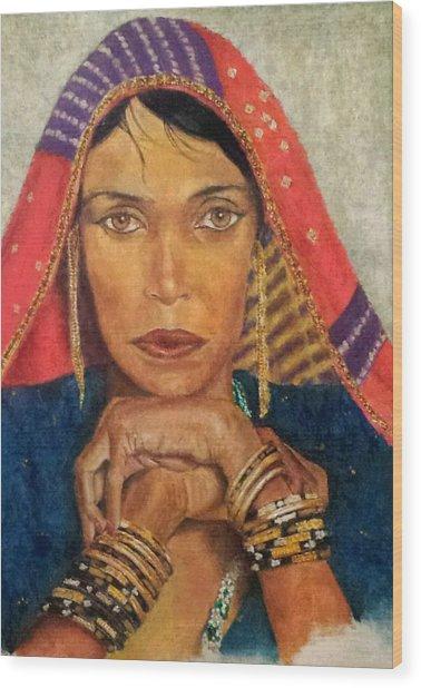 Queen Tahpenes  Wood Print