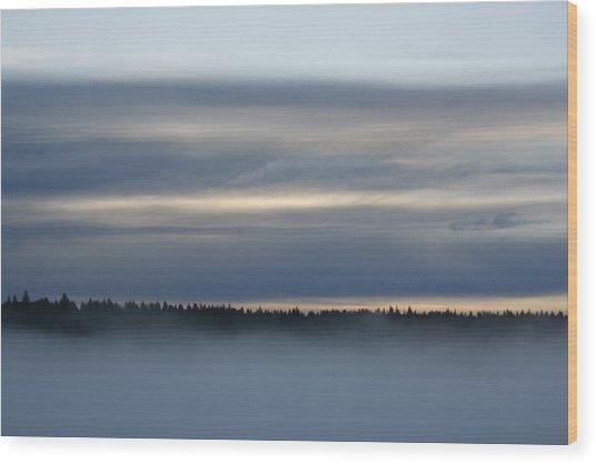Quiet Before Dawn Wood Print
