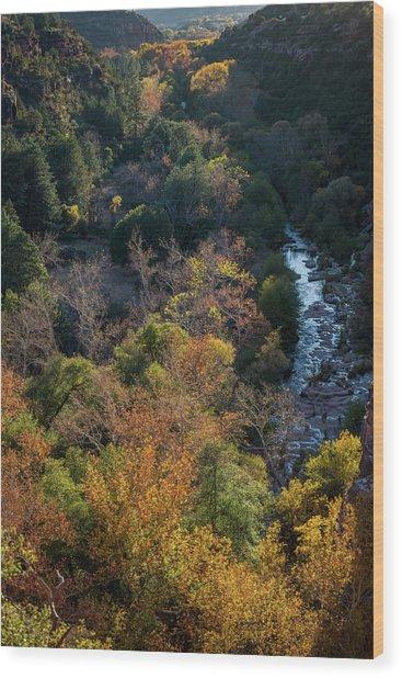 Quiet Canyon Wood Print