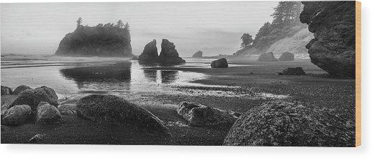 Quiet, Still And Calm Wood Print by Jon Glaser