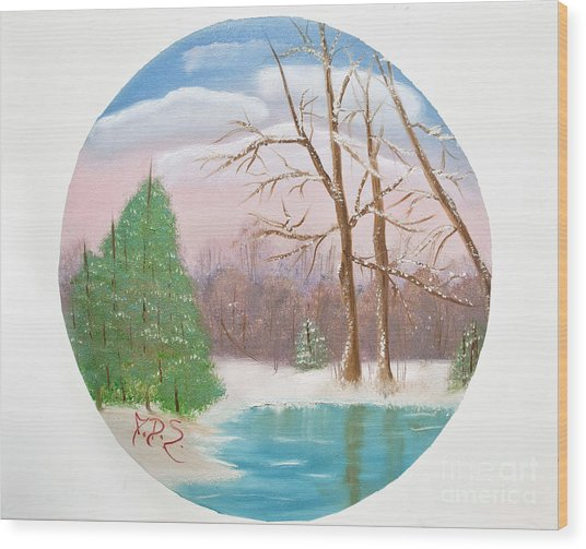 Quietude Wood Print