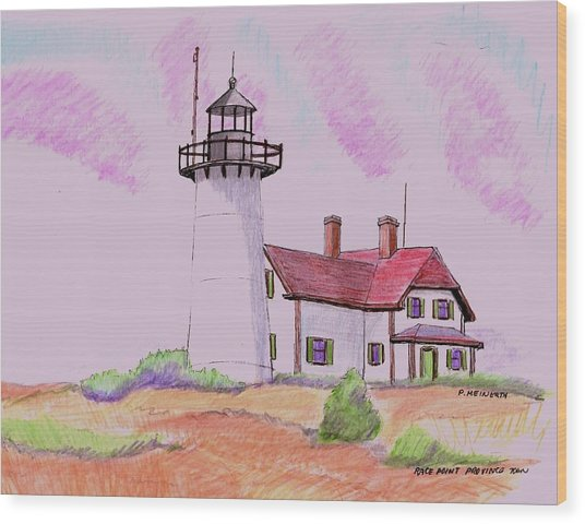 Race Point Provicetown Wood Print