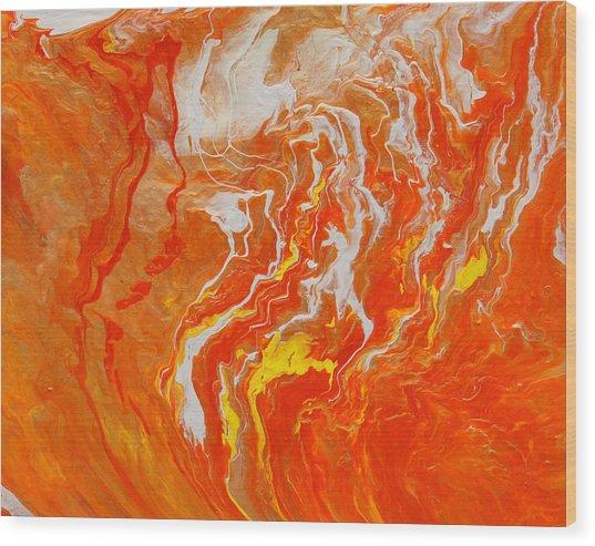 Radiance Wood Print