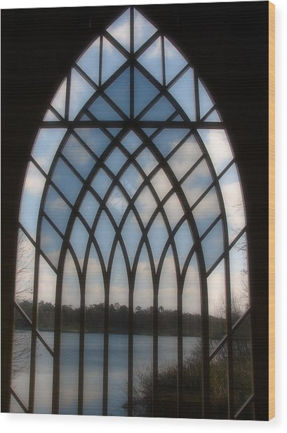 Radiant Wood Print