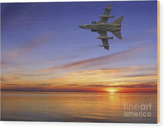 Raf Tornado Gr4 Wood Print