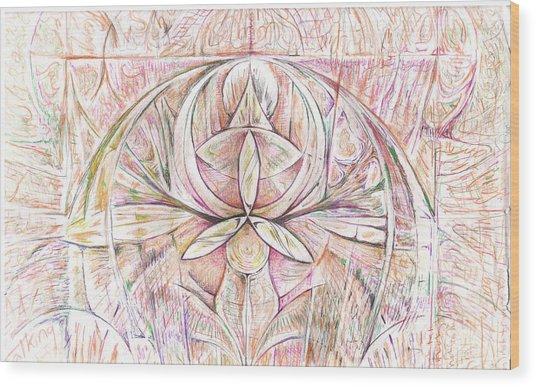 Rafaga Wood Print by Jeremy Robinson