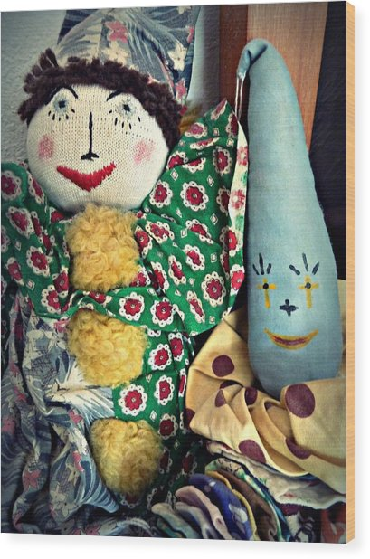 Ragdoll Buddies Wood Print