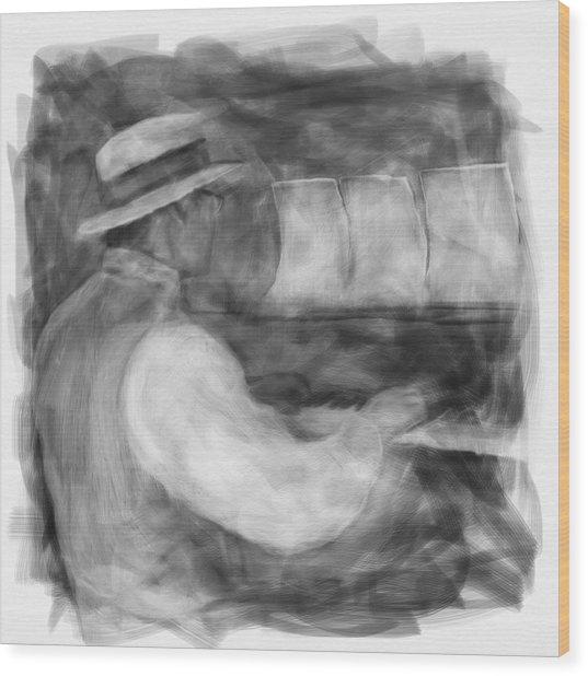 Ragtime Blues Wood Print
