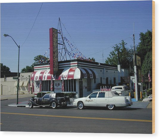 Wood Print featuring the photograph Raifords Disco Memphis A by Mark Czerniec
