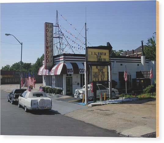 Wood Print featuring the photograph Raifords Disco Memphis B by Mark Czerniec