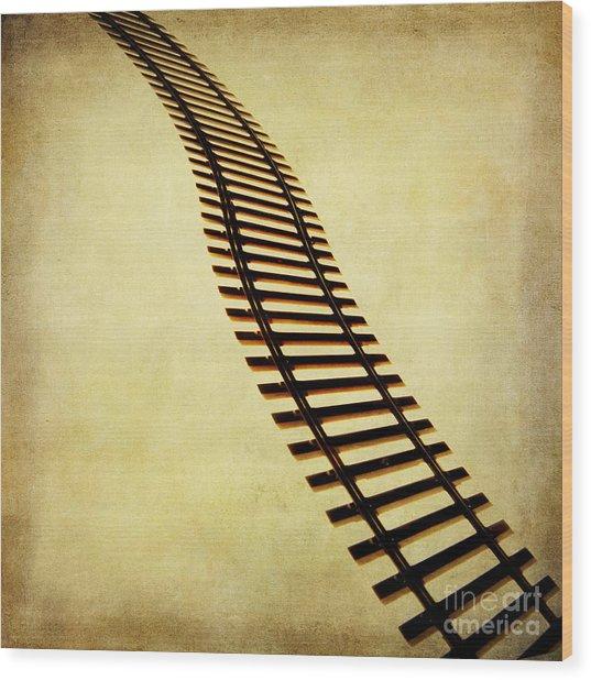Railway Wood Print