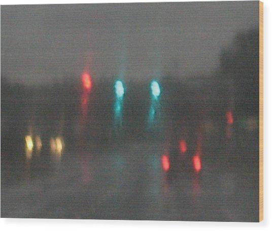 Rain 6 Wood Print by Stephen Hawks