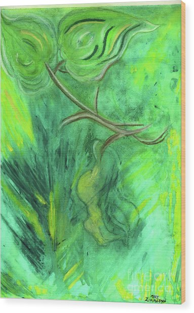 Rain Forest Revisited Wood Print