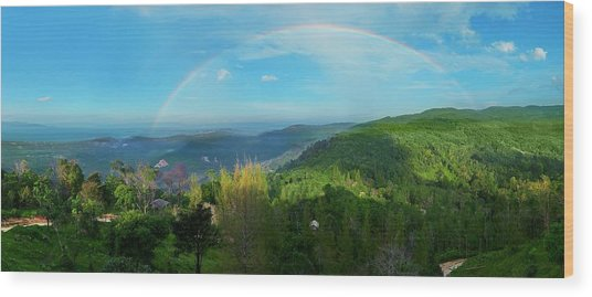 Rainbow Dream Wood Print