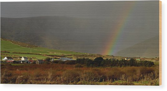 Rainbow Near Dingle Wood Print