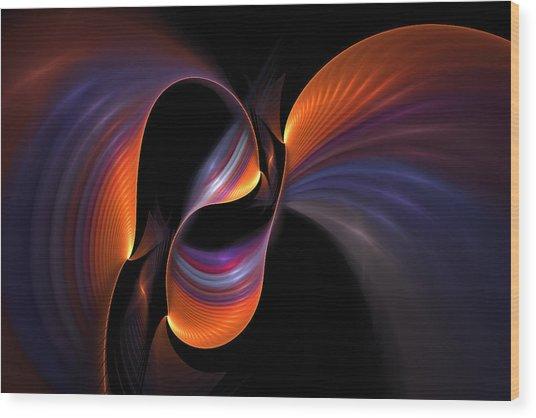 Rainbow Tango Wood Print