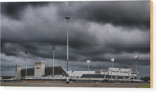 Ralph Wilson Stadium 5803 Wood Print