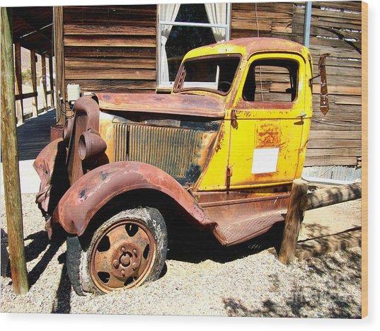 Randsburg Truck 1 Wood Print