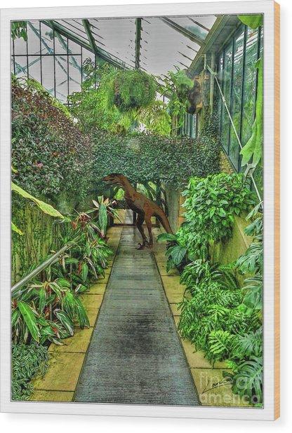 Raptor Seen In Kew Gardens Wood Print
