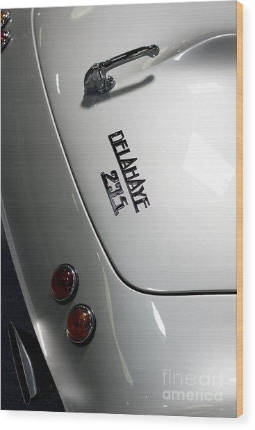Rare Cabriolet Wood Print