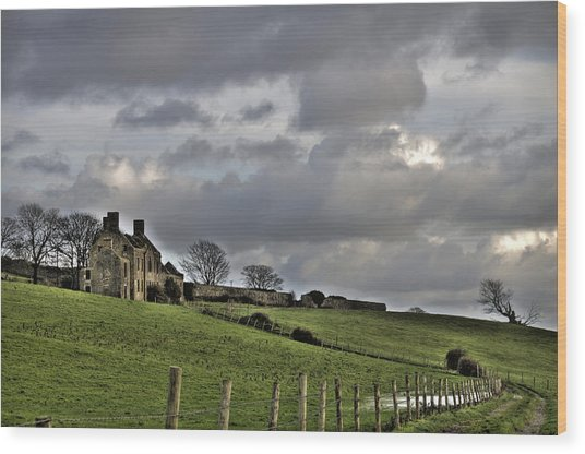 Rathfran House Wood Print