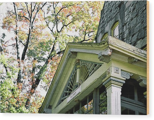 Ravenhill Mansion Wood Print by JAMART Photography