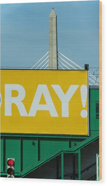 Ray Wood Print by Art Ferrier