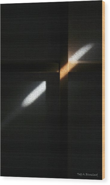 Ray Of Light Wood Print