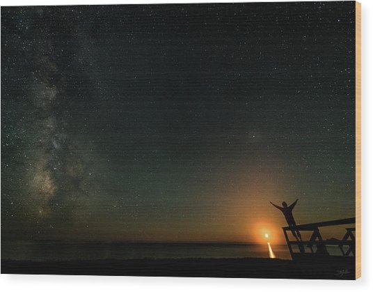 Wood Print featuring the photograph Reach For The Stars by Doug Gibbons
