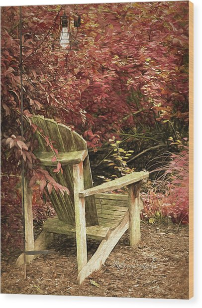 Reading Nook Wood Print