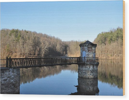 Reading Pa - Antietam Creek Wood Print
