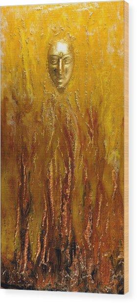 Rebirth Wood Print by Paul Tokarski