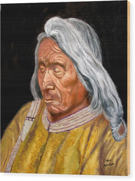 Red Cloud Wood Print by Stan Hamilton