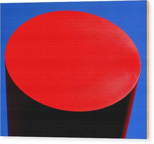 Red Circle 2016 Wood Print