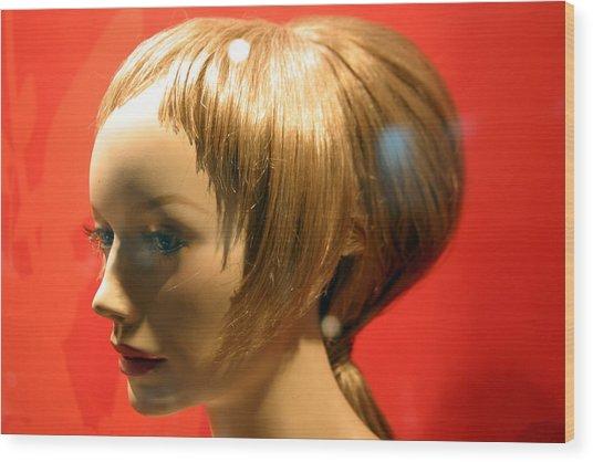 Red Head Wood Print by Jez C Self