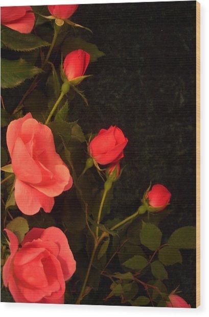 red Wood Print by Nereida Slesarchik Cedeno Wilcoxon