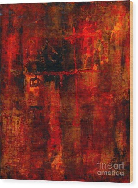 Red Odyssey Wood Print