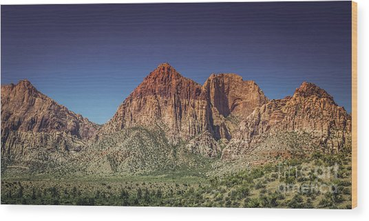 Red Rock Canyon #20 Wood Print