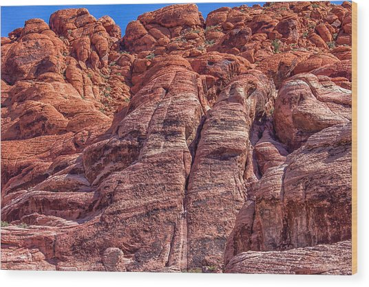 Red Rock Canyon National Conservation Area Wood Print